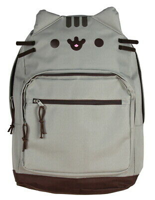 c65d333770e PUSHEEN THE CAT - Cat Face Backpack Standard Bag -  29.95
