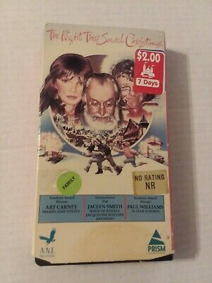 The Night They Saved Christmas vhs,Rare Prism copy!