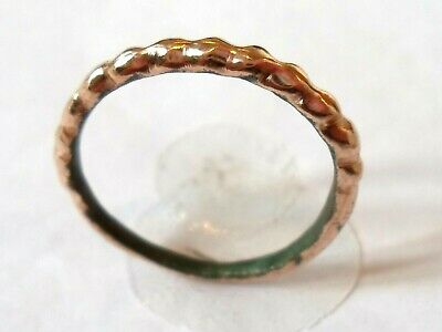 Wedding Gifts, Detector Find & Polished, 900-1100 A.d Viking  Bronze Ring