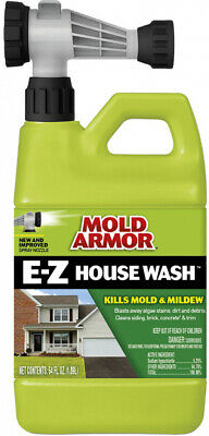 Outdoor Mold Armor Cleaner Removes Mold and Mildew Stains Bleach 64-fl Oz Scent