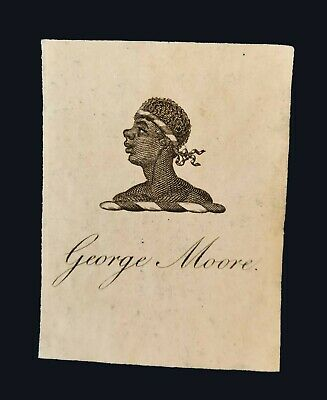 [late 19th century] Bookplate of George Moore