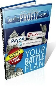 Surefire Profit System eBook PDF with Full Master Resell Rights
