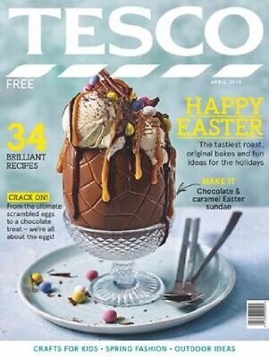 Tesco Food Magazine - April 2019, Happy Easter