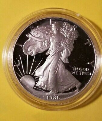 1986 American Eagle Proof Silver Bullion