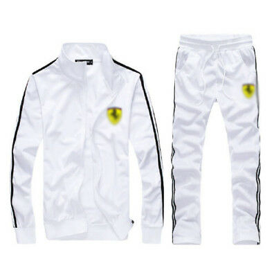 New Man Full TrackSuit Jogging Top Bottom Sport Suit Sets Pants Outerwear Strips
