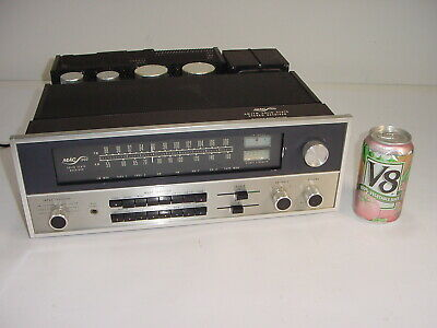 Vintage McIntosh MAC 1900 MAC1900 Solid State Stereo Receiver Preamp Amplifier