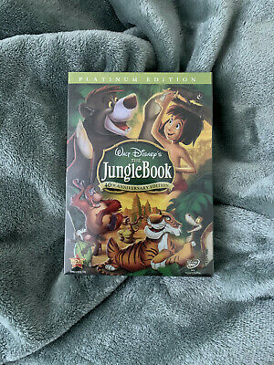 The Jungle Book DVD,40th Anniversary,Platinum Edition,Brand New - FREE SHIPPING