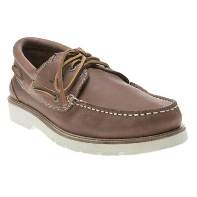New Mens Chatham Marine Brown Peregrine Nubuck Shoes Boat Lace Up
