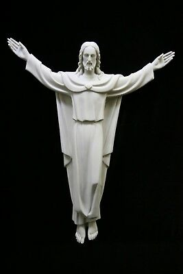 """26"""" Risen Jesus Christ Wall Cross Catholic Statue Sculpture  Made in Italy"""