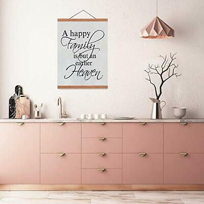 Poster Frame 18x24 Inches Magnetic Poster Hanger Wooden Frame with Strong Magnet