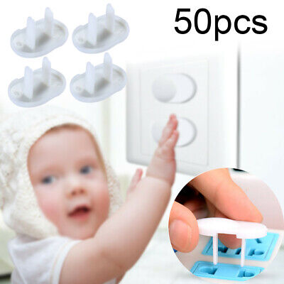 50pcs Child Baby Room Socket Outlet Plug Protective Cover Safety Protector