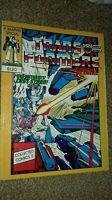 Transformers Marvel UK collected comics summer special #2 Number 2 1980's