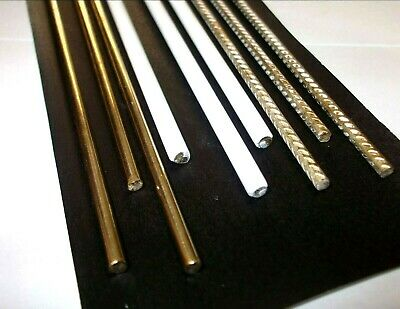 Silicone Bronze brazing rods. Non flux. Flux coated. Flux impregnated.. EN1044.