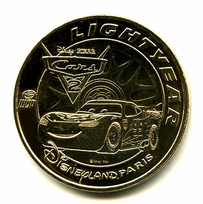 77 DISNEY Lightyear, Cars 2, 2019, Monnaie de Paris