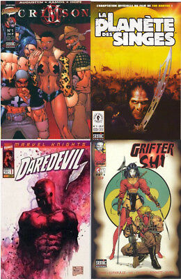 Lot 4 tome 1 Daredevil Crimson Shi planète des singes semic Top Cow Image VF EO
