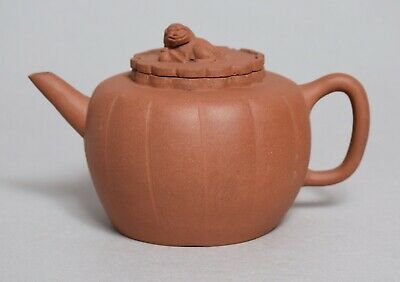 A Good Large Antique Chinese Yixing Pottery Teapot
