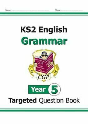 KS2 English Targeted Question Book: Grammar - Year 5 by CGP Books (Paperback,...