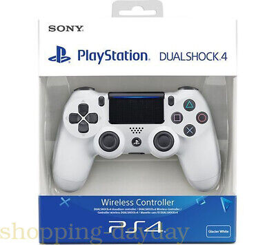 SONY(White) PS4 DualShock 4 Controller Wave Blue V2 BRAND NEW SEALED OFFICIAL A8