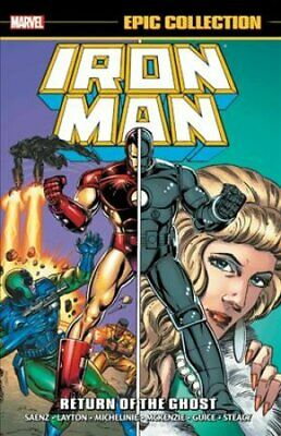 Iron Man Epic Collection: Return Of The Ghost by Bob Layton 9781302916299