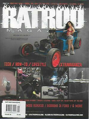RAT ROD Magazine; No.54 (NEW) *Post included to UK/Europe/USA/Canada