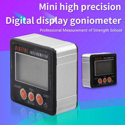 Precision Digital Protractor Level Angle Finder Inclinometer Magnet Base
