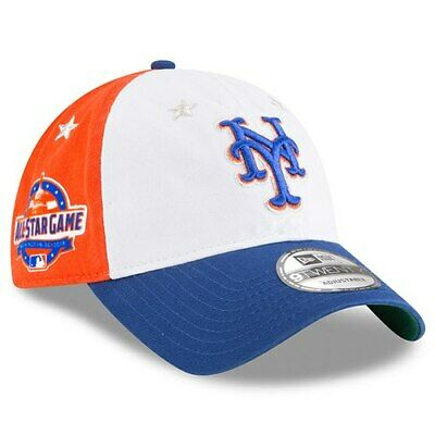 newest 3ab60 9063a New Era New York Mets White Royal 2018 MLB All-Star Game 9TWENTY Adjustable