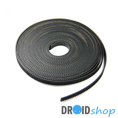 1 mètre GT2 courroie dentée ouverte Open Timing Belt 6mm imprimante 3d CNC