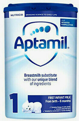 Aptamil Infant First Milk Stage 1 800g From Birth 1 Month Breastmilk Substitute