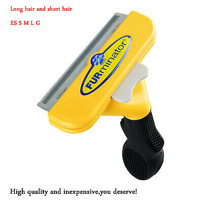 FURminator Deshedding Tool for Middle Large Dog 21-90 lbs with  Short Long Hair