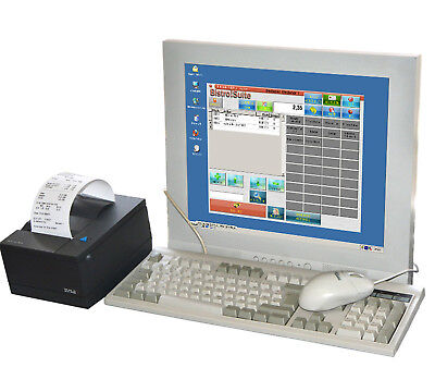 "17 "" (43cm) Poskassencomputer with Receipt Printer F Retail and Gastronomy MM"