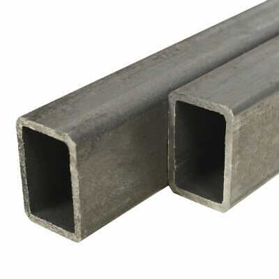 vidaXL 6x Structural Steel Tubes Rectangular Box Section 2m 30x20x2mm Bar