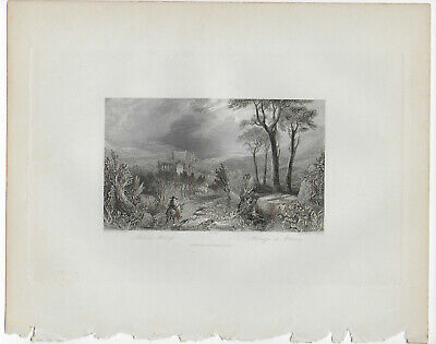 9 prints that depict scenes of English (or French) events or locations
