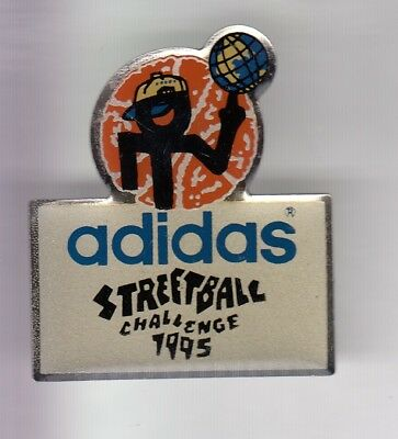 Rare Pins Pin's .. Sport Chaussure Shoes Team Adidas Streeball Basket 1995 ~Eb