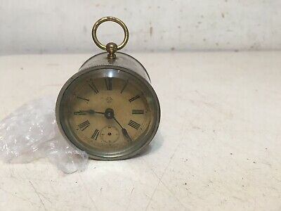 Small Antique Ansonia Desk Clock Parts