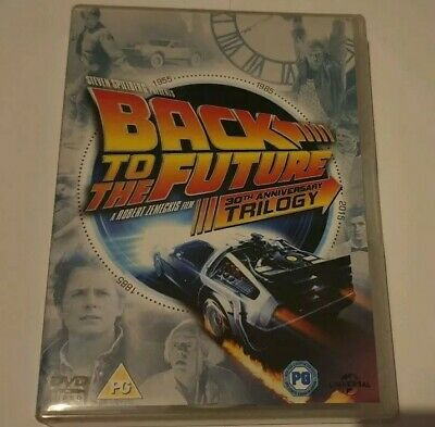 Back To The Future 30th Anniversary Trilogy DVD Featuring Bonus Features Disc