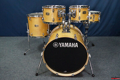 "Yamaha Stage Custom Birch Shellset ""Natural Wood"" - 20,10,12,14"" + 14x5,5"""