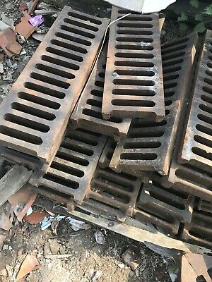 Reclaimed Vintage Cast Iron Drainage Grills - Gully Cover