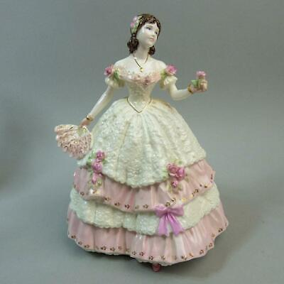 Fine Coalport Compton & Woodhouse Porcelain Ltd Edition Olivia Figurine C.1997
