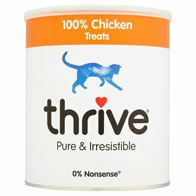 Thrive 100% Chicken Cat Treats MaxiTube 200g, 4 Pack