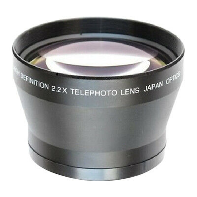 67mm 2.2x Tele Telephoto Zoom Lens for Canon Nikon Sony Pentax DSLR Cameras