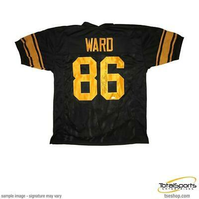 bf98a98ec1c Hines Ward Autographed Custom Holiday Jersey Inscribed