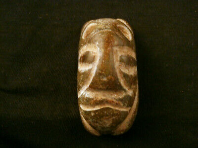 Lovely Chinese Old Jade *HongShan Culture Cicada/Figure Head* Pendant P055