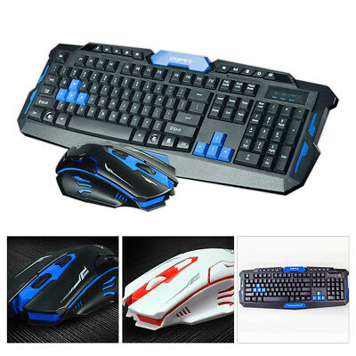 2.4G Gaming Wireless Keyboard and Mouse Set For PC Computer Multimedia Gamer NEW