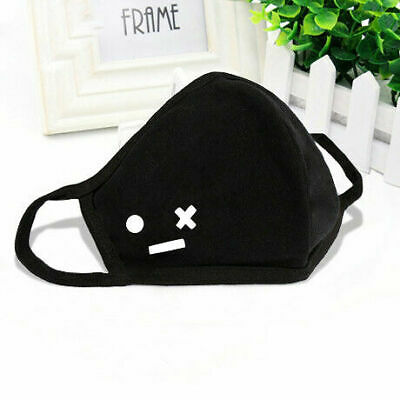 Cycling Anti-Dust Mouth Face Mask Cotton Black Health Respirator Fashion Unisex