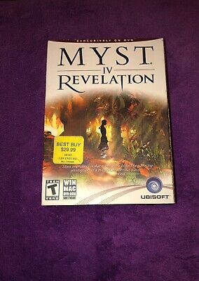 THAT'S HOT! MYST IV: Revelation Brand New Sealed Ubisoft