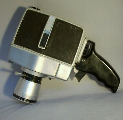 VINTAGE 1960's BAUER 88RS - 8mm MOVIE CAMERA .