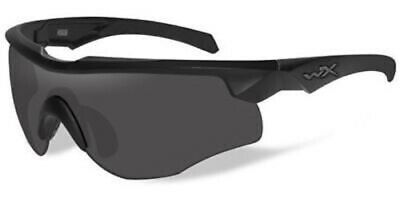 New Wiley X 2851 Rogue Smoke Grey/Clear Lens Tactical Glasses
