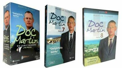 Doc Martin: The Complete Series Season 1 -8 + Movies DVD 21 Disc NEW SEALED
