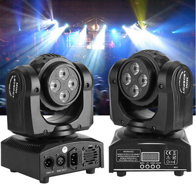 90W RGBW LED Double Sides Stage Lights Spot Beam Moving Head DMX DJ Disco Party