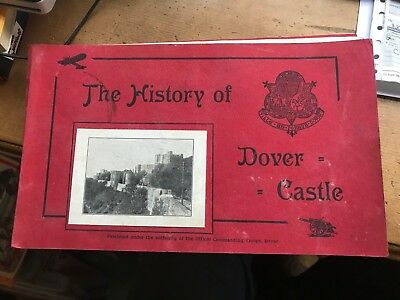 The History of Dover Castle, 1960's booklet with pictures